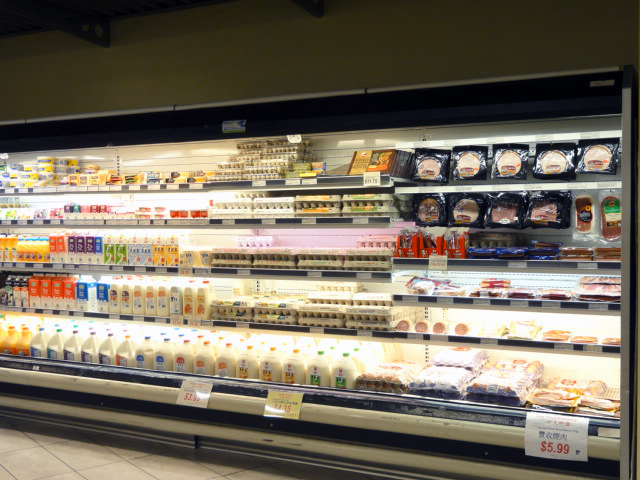 Milk & Soy Milk, Eggs, Cheese,Ham, Butter, and More at New Pacific Supermarket