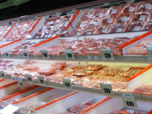 Keep your eyes open for daily speacials on selected fresh meat at New Pacific Supermarket